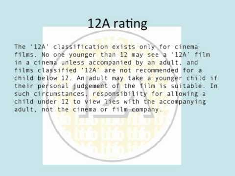 film ratings for iMovie