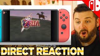 Nintendo Direct Reaction - September 2021