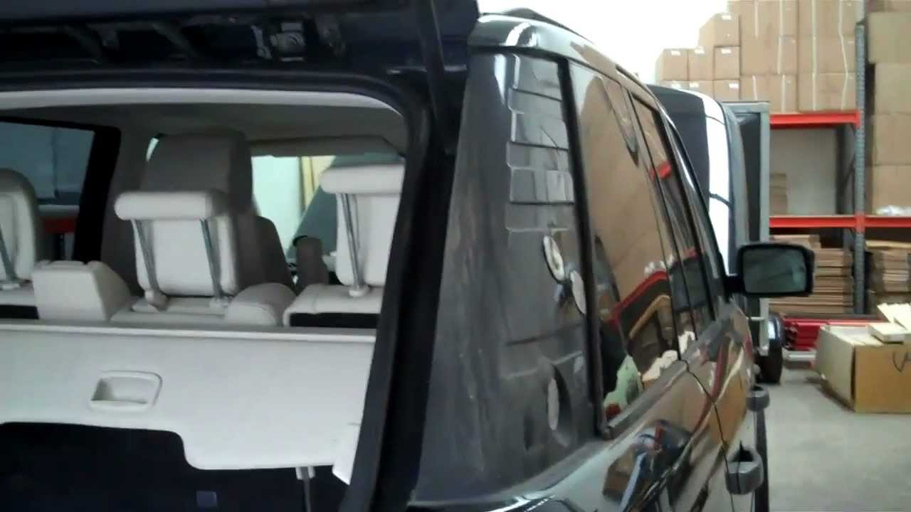 How To Remove D Pillars On A Range Rover Sport Youtube