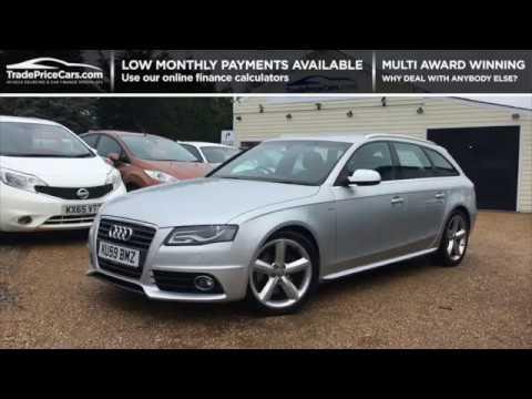 2009 Audi A4 20 Avant Tdi S Line Dpf For Sale Car Review Vlog