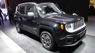 2018 Jeep Renegade Limited 1.4 Multiair 170 4x4 - Exterior and Interior - Geneva Motor Show 2018