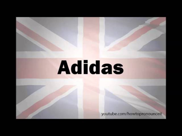 How to pronounce 'Adidas' - INSIDER