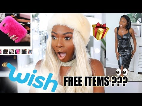 BUYING CHRISTMAS GOODIES FROM WISH! GURRLLL I CANT BELIEVE WHAT I GOT FOR FREE