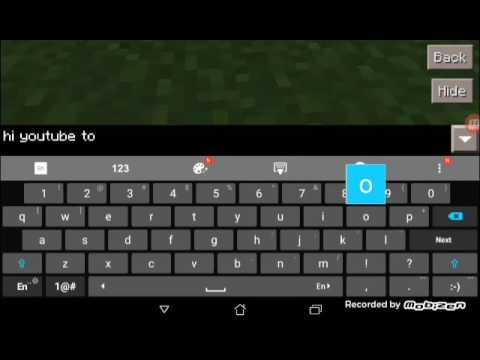 how to change color of text in minecraft
