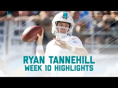 Ryan Tannehill Leads Dolphins to Victory | Dolphins vs. Chargers | NFL Week 10 Player Highlights