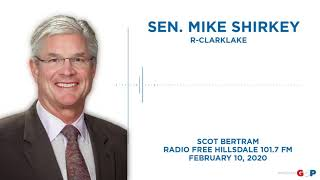 Sen. Shirkey discusses road funding and more on Radio Free Hillsdale