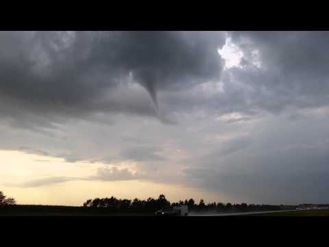 Tornado Illinois route 39 and 64