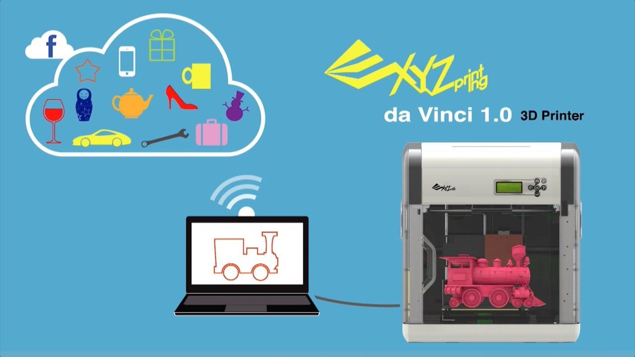 XYZprinting da Vinci 1 0 3D Printer