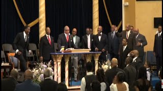 Apostle Tommy E. Quick with Bishop Patrick L. Wooden - CFADD 2021 Family Conference