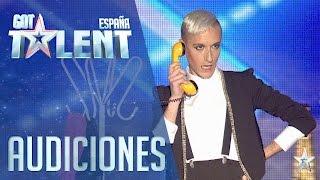 El mago glam | Audiciones 3 | Got Talent España 2016