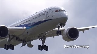 All Nippon Airways Boeing 787-9 Dreamliner JA891A Test Flight Before Delivery