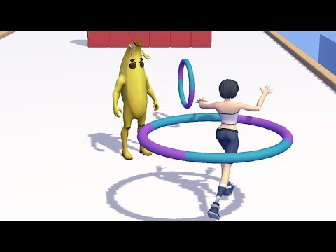 Hula Hoop 3D - Gameplay All lvls #1 (IOS/Android)
