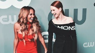 Madelaine Petsch and Vanessa Morgan Funny/Cute Moments PART 2
