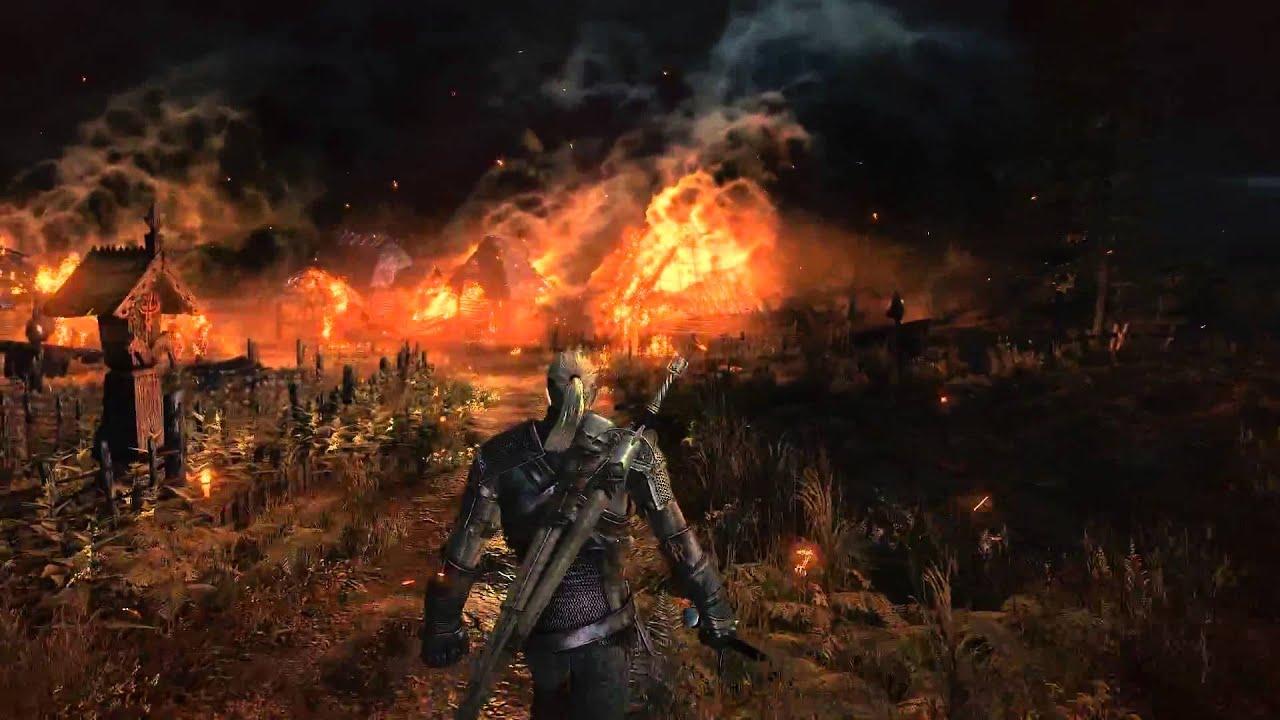 Gon Wallpaper 3d The Witcher 3 Gameplay Trailer E3 2013 1080p Trailer Hd