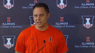 Illini Volleyball | Chris Tamas Press Conference | 9/10/18