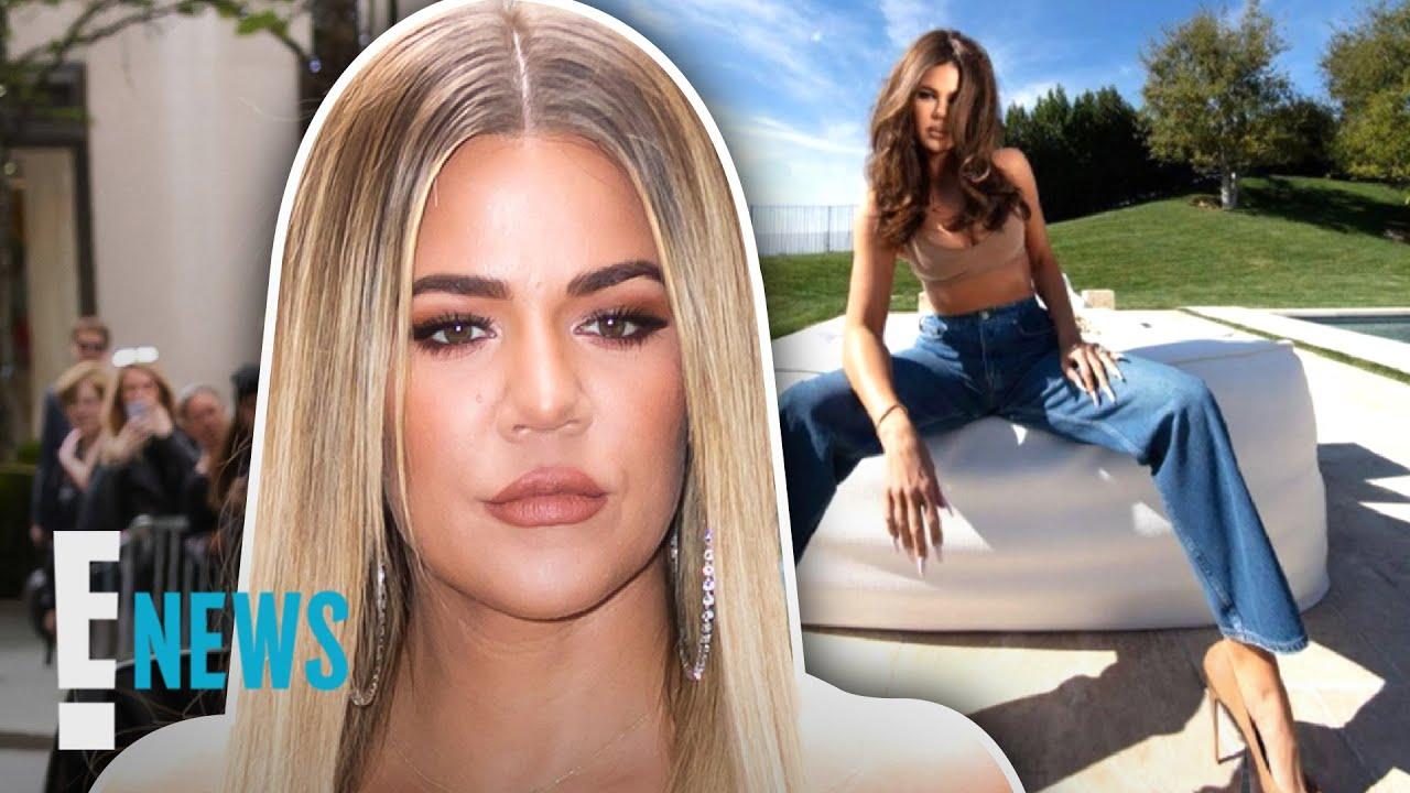 """Khloé Kardashian Explains """"Elongated"""" Photos News"""