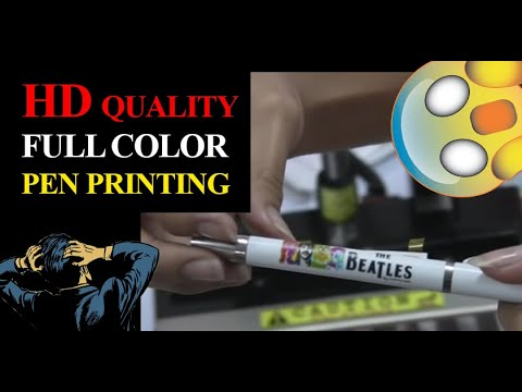 PEN PRESS Machine, Ballpen Printing in FULL color, the PIONEER in the market!
