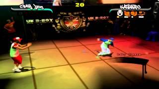Crazy Legs vs Kazuhiro B-boy game