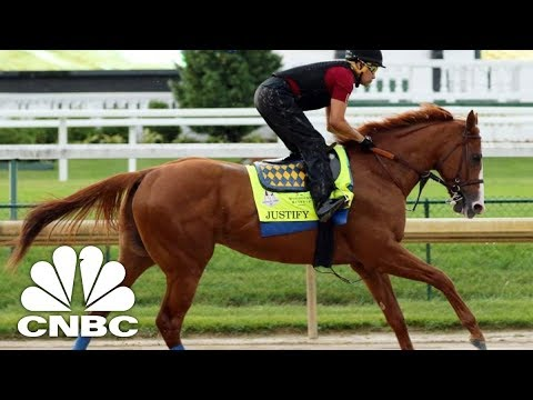 All Eyes On Justify At Belmont Stakes | CNBC