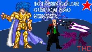 【AQW】Outros 10 Itens Color Custom Não Member (2015)