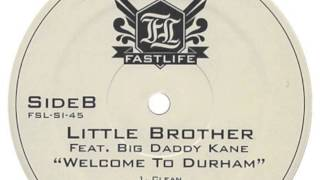 ✦ Little Brother - Welcome to Durham (feat. Big Daddy Kane) (Sourface remix) (hiphoprap)