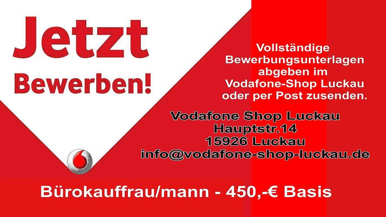 vodafone shop luckau stellenanzeige - Vodafone Bewerbung