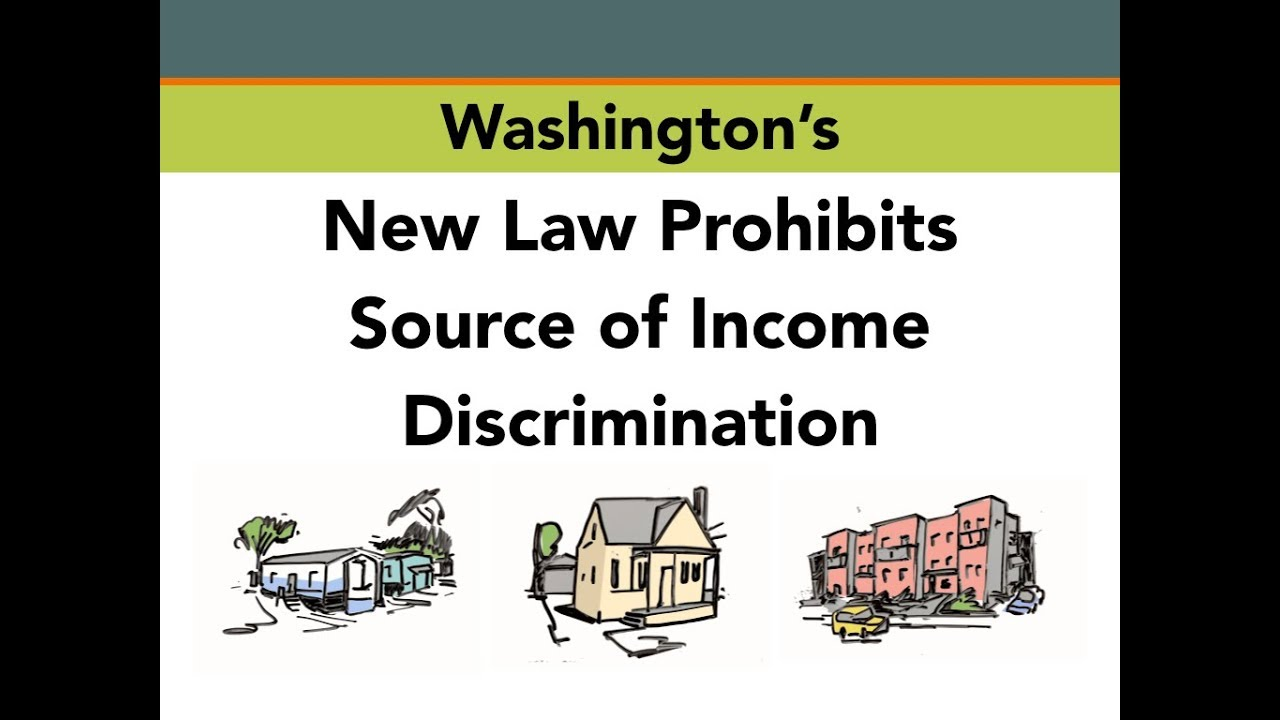 Tenants: New Legal Protection from Discrimination Based on Source of