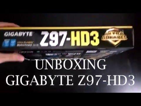 UNBOX Gigabyte Z97-HD3