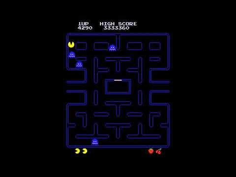 Pac-Man Speedrun [Fastest Killscreen] (WR) By Rodd Togers (200% Legit Real Hardware) (No MAME)