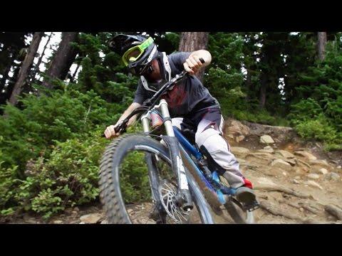 Tearing Up Whistler Bike Park - Freeride Mountain Biking