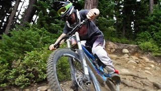 Repeat youtube video Tearing Up Whistler Bike Park - Freeride Mountain Biking