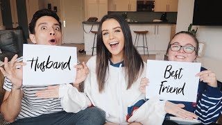 BEST FRIEND VS HUSBAND | Jess Conte