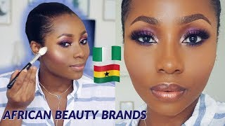 WHAT I LIKED & WHAT I HATED  | TRYING MAKEUP FROM AFRICAN BRANDS | DIMMA UMEH
