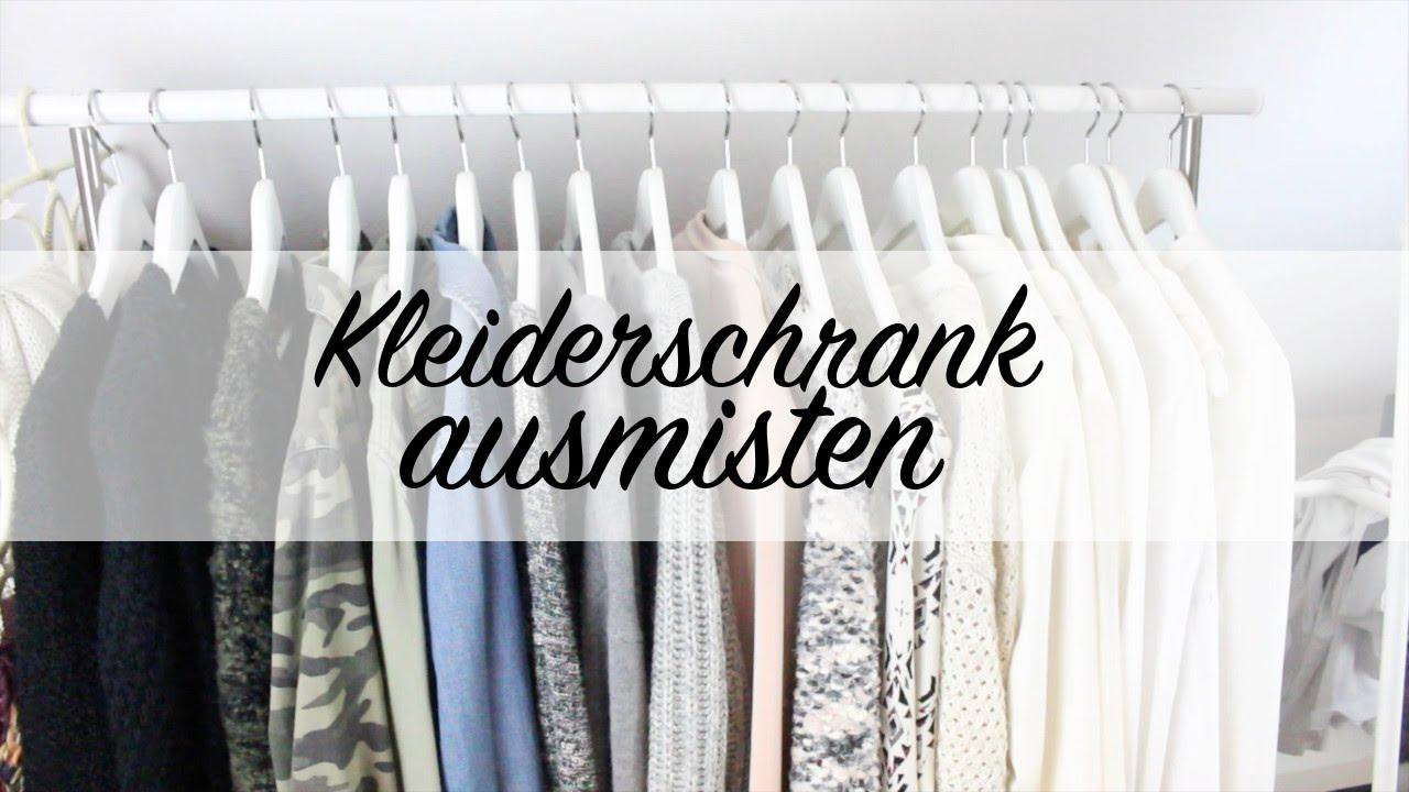 Kleiderschrank ausmisten minimalismus youtube for Minimalismus youtube