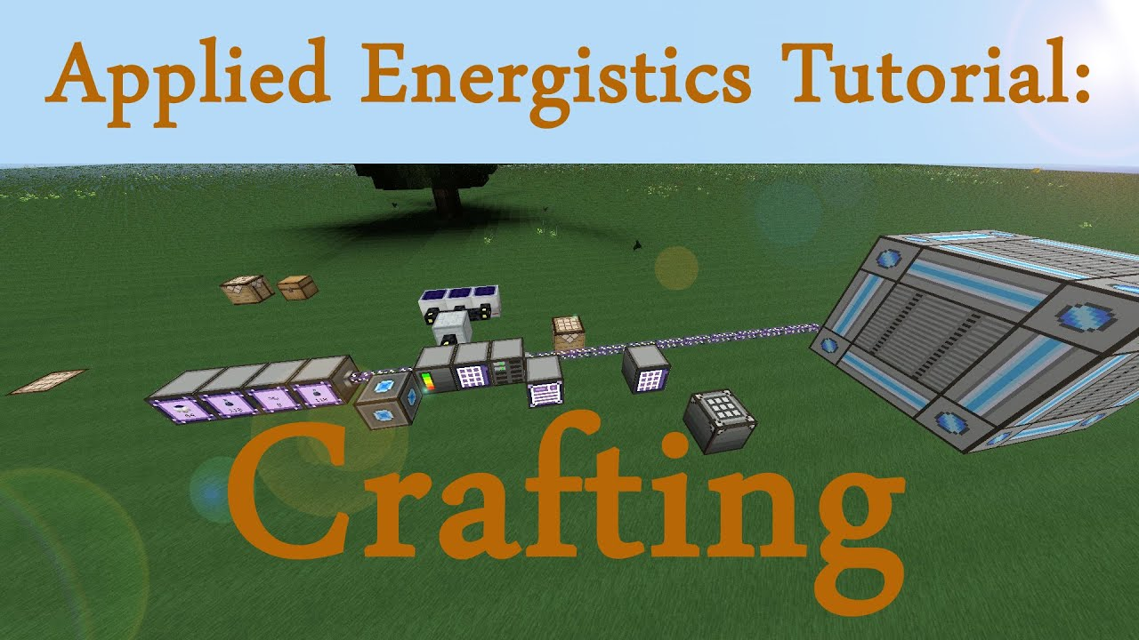 Minecraft Tutorial Applied Energistics Auto Crafting Assembler