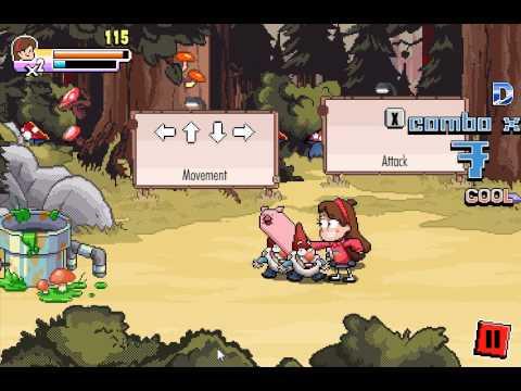 Gravity Falls Rumble's Revenge (Гравити Фолс: Месть Рамбла) - прохождение игры