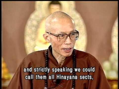 The difference between Mahayana and Hinayana Buddhism(GDD-0204, Master Sheng Yen)
