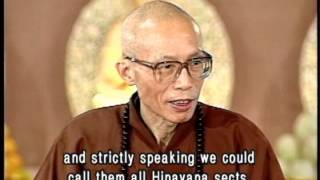 The difference between Mahayana and Hinayana Buddhism(GDD-0204, Master Sheng Yen)