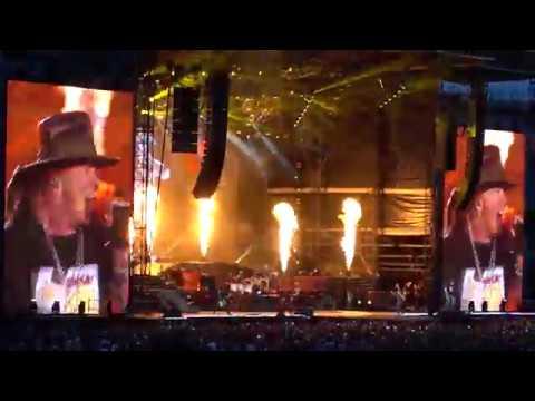 Guns N Roses  You Could Be Mine  Chorzów 09072018 Stadion Śląski