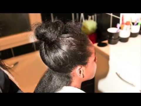 Lissage bresilien sur cheveux afro crepus