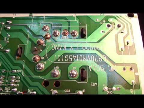 видео: Ремонт телевизора lg cf-20k49e. Не включается. Курсы телемастеров.