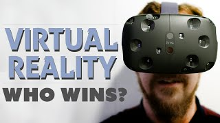 Which VR Headset Wins? (Oculus Release Date!) - The Know(Oculus Rift, HTC Vive, Project Morpheus... there's just too much Lawnmower Man to go around these days. Which headset should you get? Turns out we have ..., 2015-05-06T22:22:20.000Z)