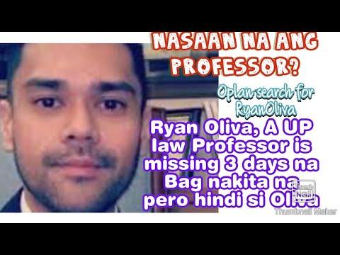 Bag ng Missing Law Professor ng Quezon City na si Ryan Oliva natagpuan sa Occidental Mindoro!!!