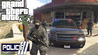 GTA V - PoliceMod 1.0c: SWAT - Tropa de Elite em patrulha #9