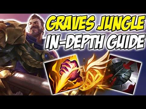 GUIDE ON HOW TO PLAY GRAVES JUNGLE IN SEASON 8!! HE IS BACK AND ACTUALLY GOOD! - League of legends