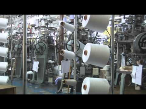 Meyer & Cie FLT Continuous Knitted Fabric Production