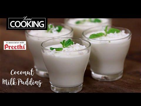 Coconut Milk Pudding | Dessert Recipe