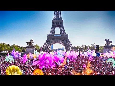 COLOR RUN PARIS 2015 - FESTIVAL OF COLOR ! Glidecam | D5300 | D3100