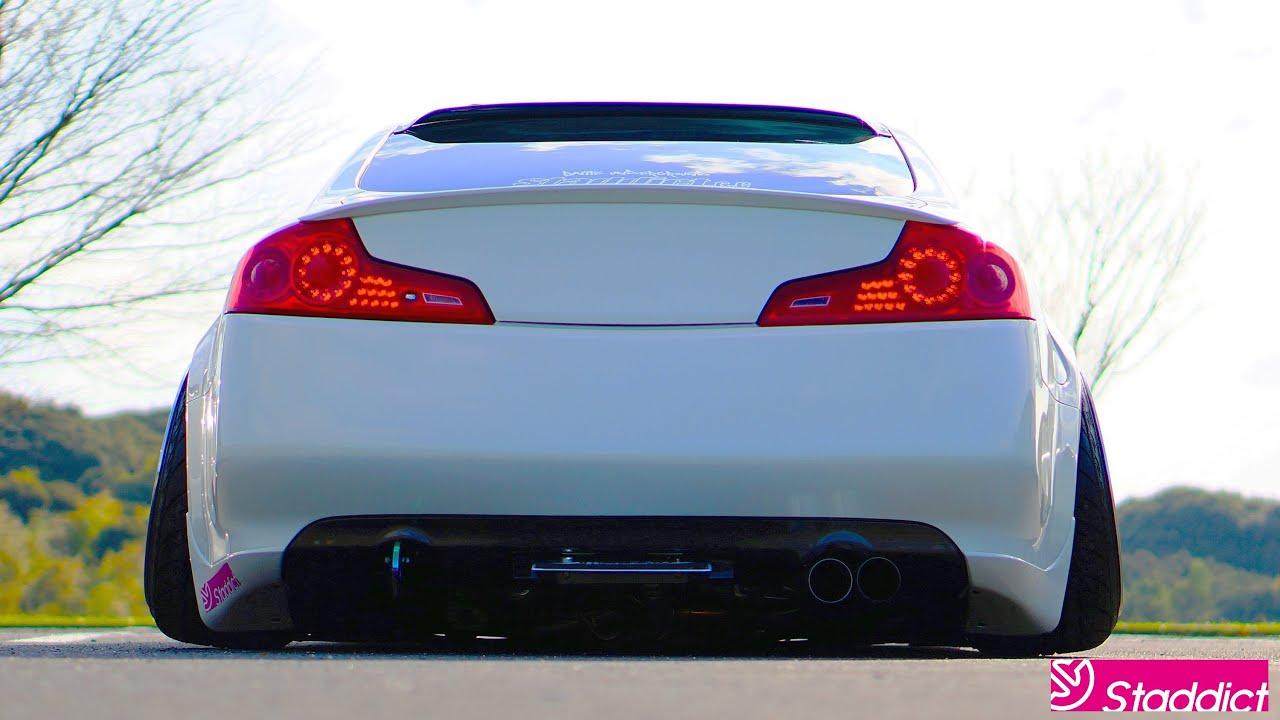 New Infiniti G35 Coupe >> G35 Custum Muffler Sound Clip Shoot & edit by Staddict ...