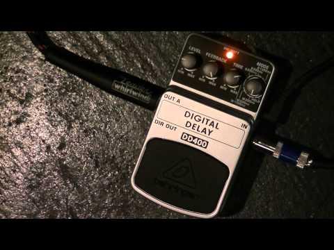 Behringer DD400 Digital Delay Guitar Pedal